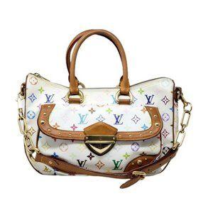 Auth Louis Vuitton Rita Multicolor Shoulder Bag